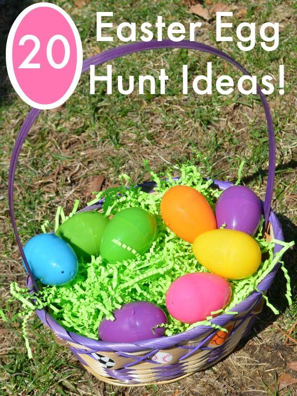 Nice Easter Egg Hunt Ideas
