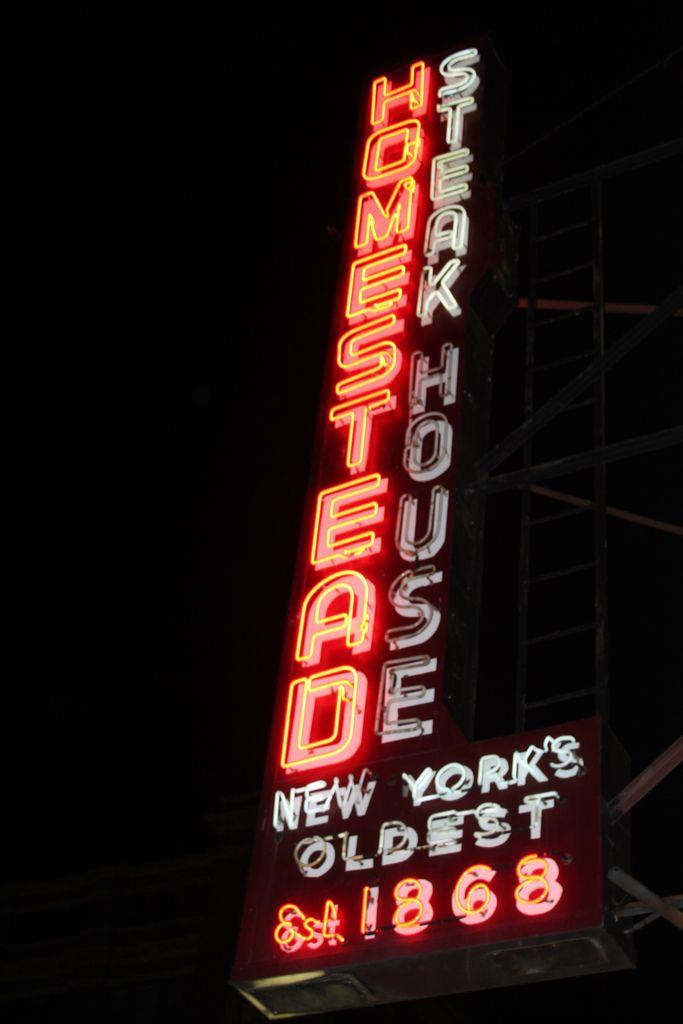 Homestead Steakhouse Restaurant New York Nyc Restaurants Restaurant