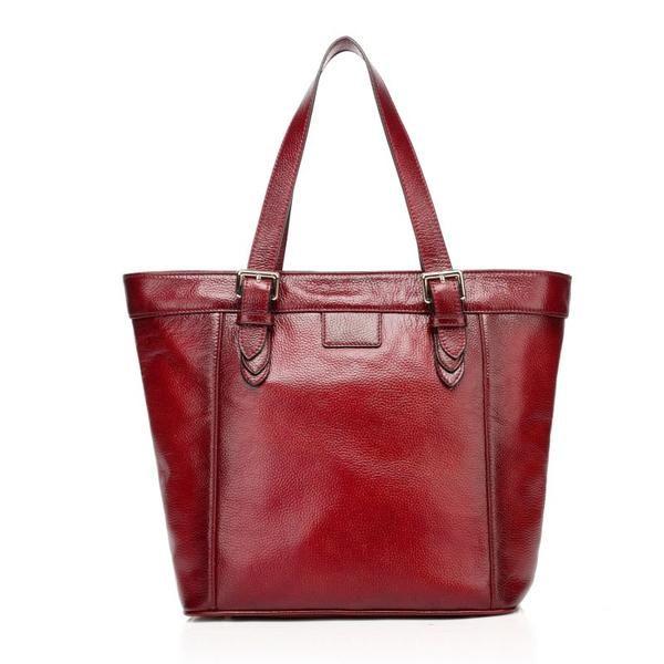 c594cbff9e94 Aluna Red Leather Shoulder Bag,Women Handbag,Retro Classic,Genuine ...