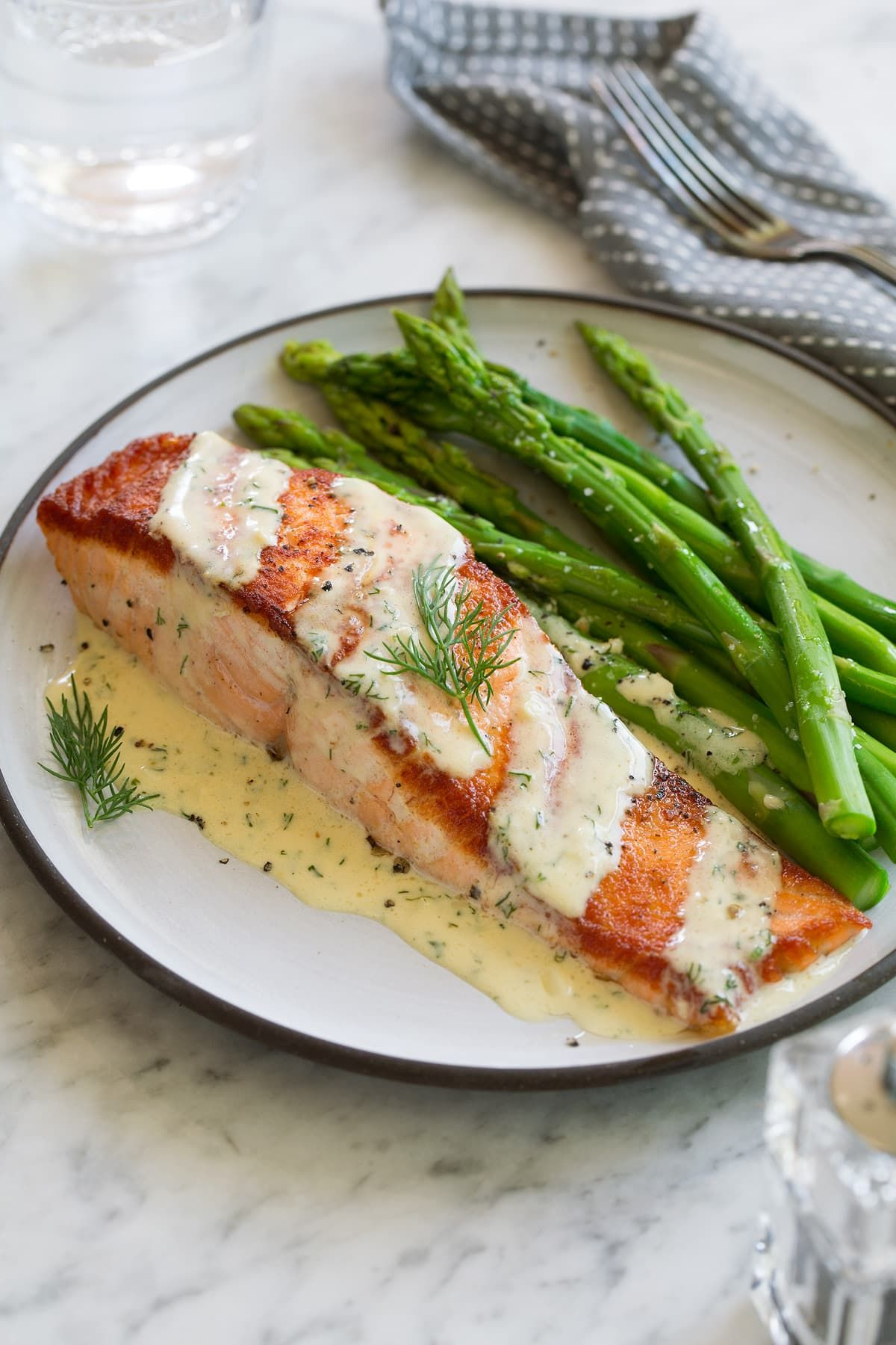 Photo of Salmon (with Creamy Garlic Dijon Sauce) – Cooking Classy