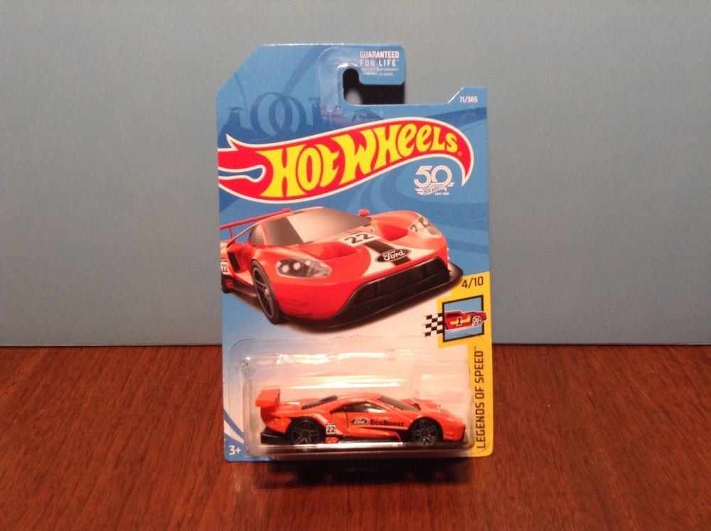 Hot Wheels 2016 Ford Gt Race 71 Legends Of Speed 4 2018 Orange