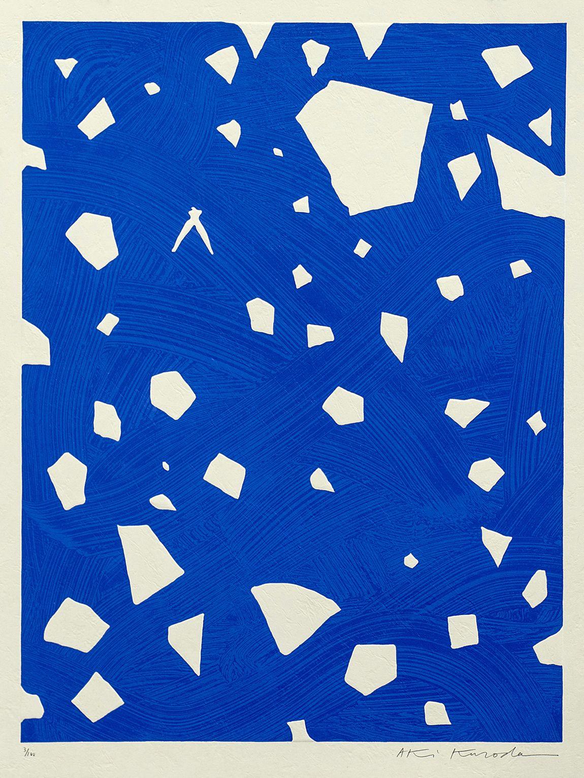 Usd 4000 Untitled By Aki Kuroda Abstract Blue Akikuroda  -> Aki Carpetes