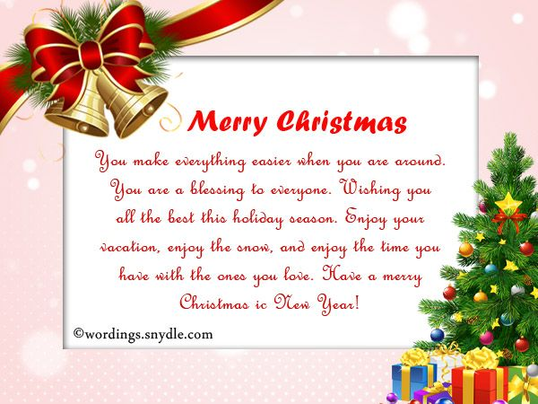 Inspirational Christmas Messages, Wishes and GreetingsExpress your - christmas cards sample
