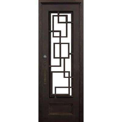 Iron Doors Front Doors The Home Depot Iron Doors Front Door Hardware Modern Exterior Doors