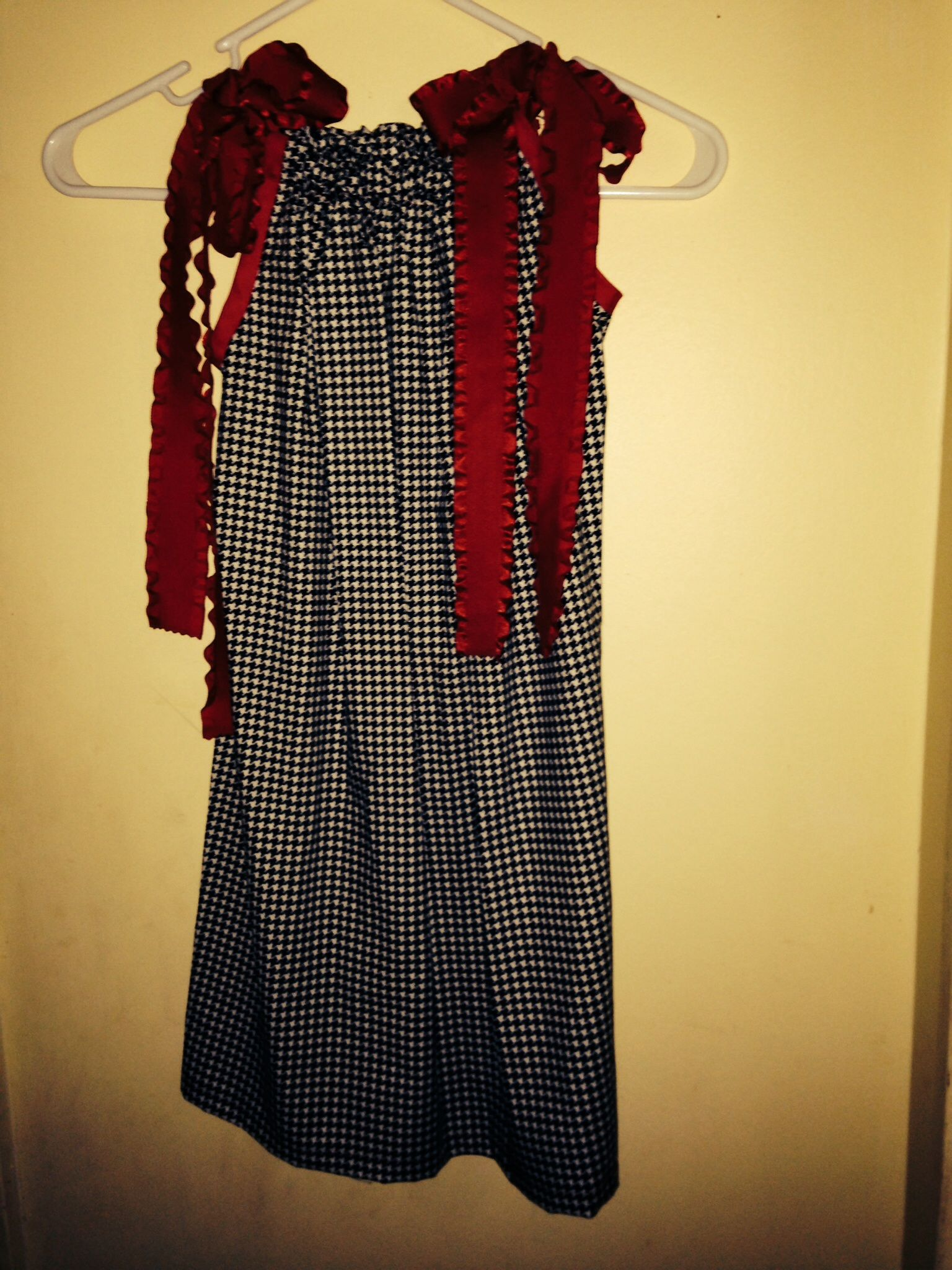 Alabama pillowcase dress, size 5/6. $25