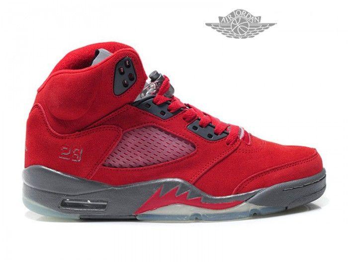 ca70d5a29d93ce Air Jordan Retro 5 Anti-fourrure Basket Pas Cher Pour Homme Air Jordan 5  Retro Homme - Authentique Nike chaussures 70% de r  duction Vendre