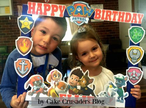 DIY Paw Patrol Photo Prop Frame - Paw patrol photo props, Photo frame prop, Birthday photo props, Kids photo props, Kids party printables, Photo booth props free - Learn to make this easy DIY Paw Patrol Photo Prop Frame  It's alot easier than you think, especially when all the printables are available to download for free