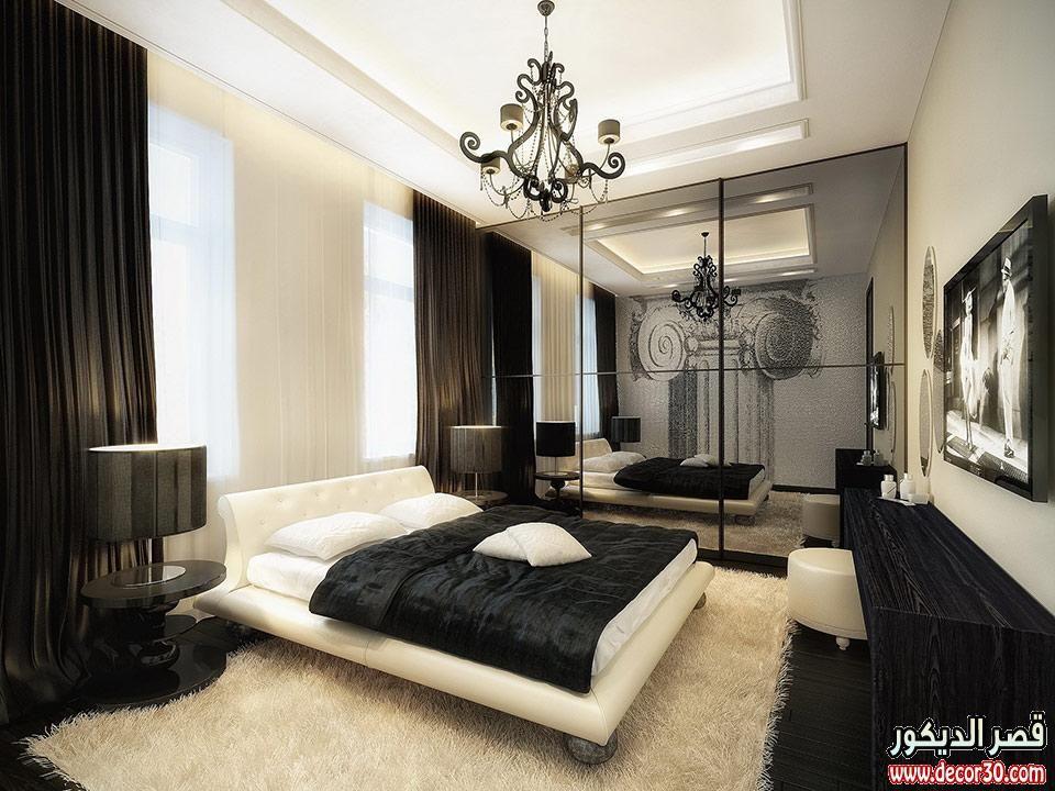 ديكورات فريدة لغرف النوم الشبابية 2016 New Bedrooms Decorated White Bedroom Design Luxurious Bedrooms Bedroom Interior