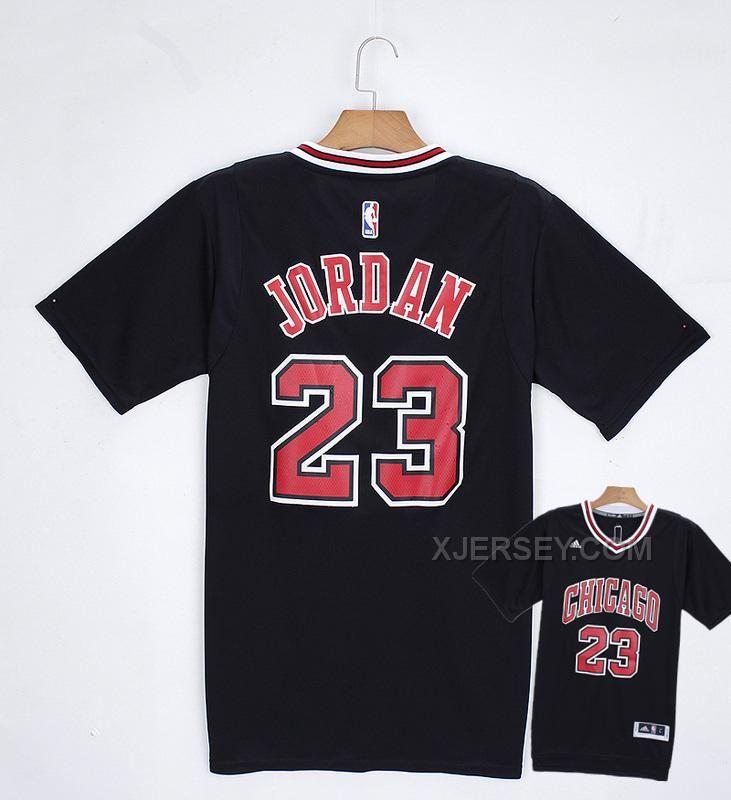 http://www.xjersey.com/bulls-23-jordan-black-short-sleeve-jerseys.html Only$34.00 #BULLS 23 #JORDAN BLACK SHORT SLEEVE JERSEYS Free Shipping!