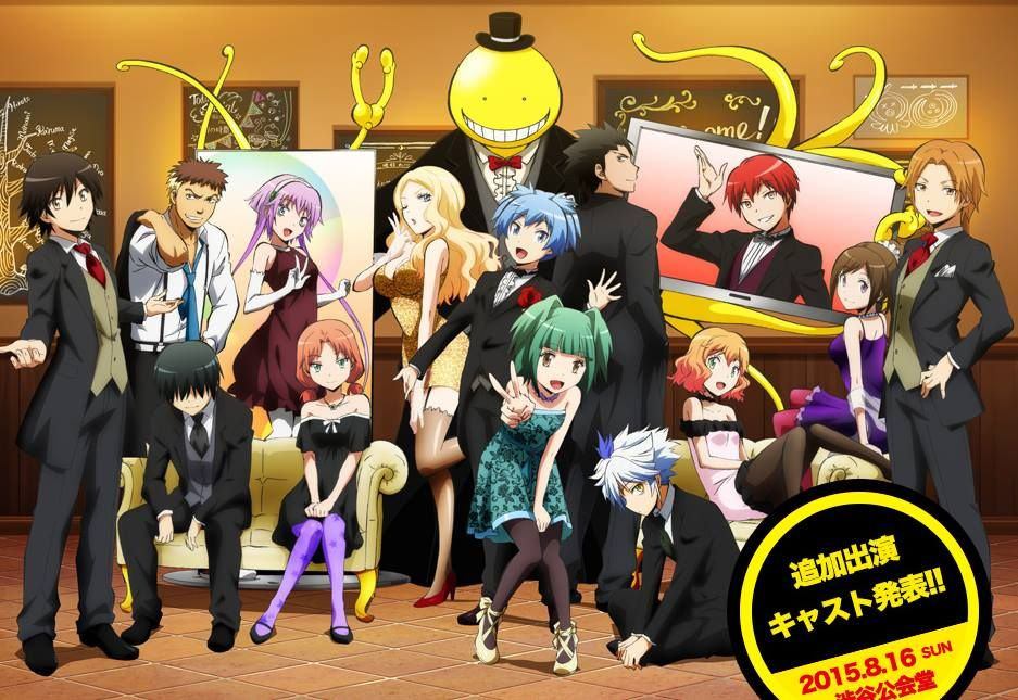 Class E & teachers assassination classroom Assassination