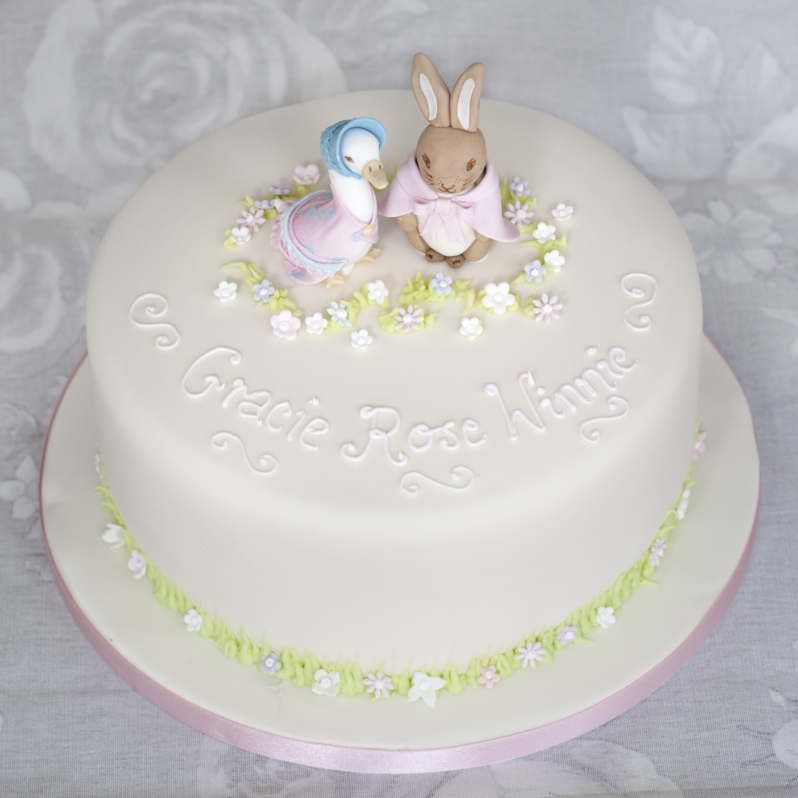 Baby Shower Cakes Edinburgh ~ Beatrix potter cake christening cakes pinterest