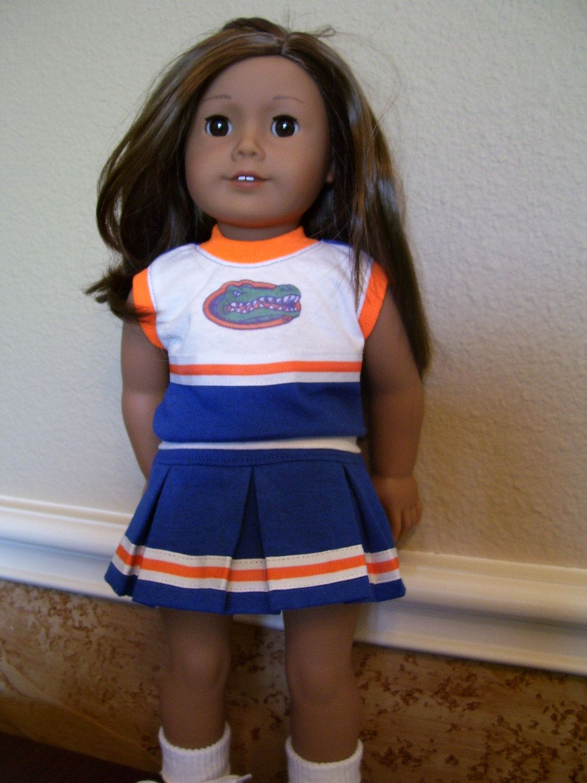 Doll Clothes Florida Gators Cheerleader