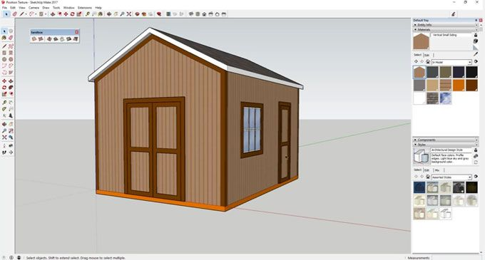 This Sketchup Video Tutorial From Justin Geis Is Based On Position