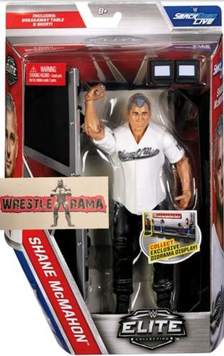 Sports 754 Shane Mcmahon Wwe Mattel Elite Series 50 Wrestling Figure New W Announcer Table Buy It Now Only 61 77 On Ebay