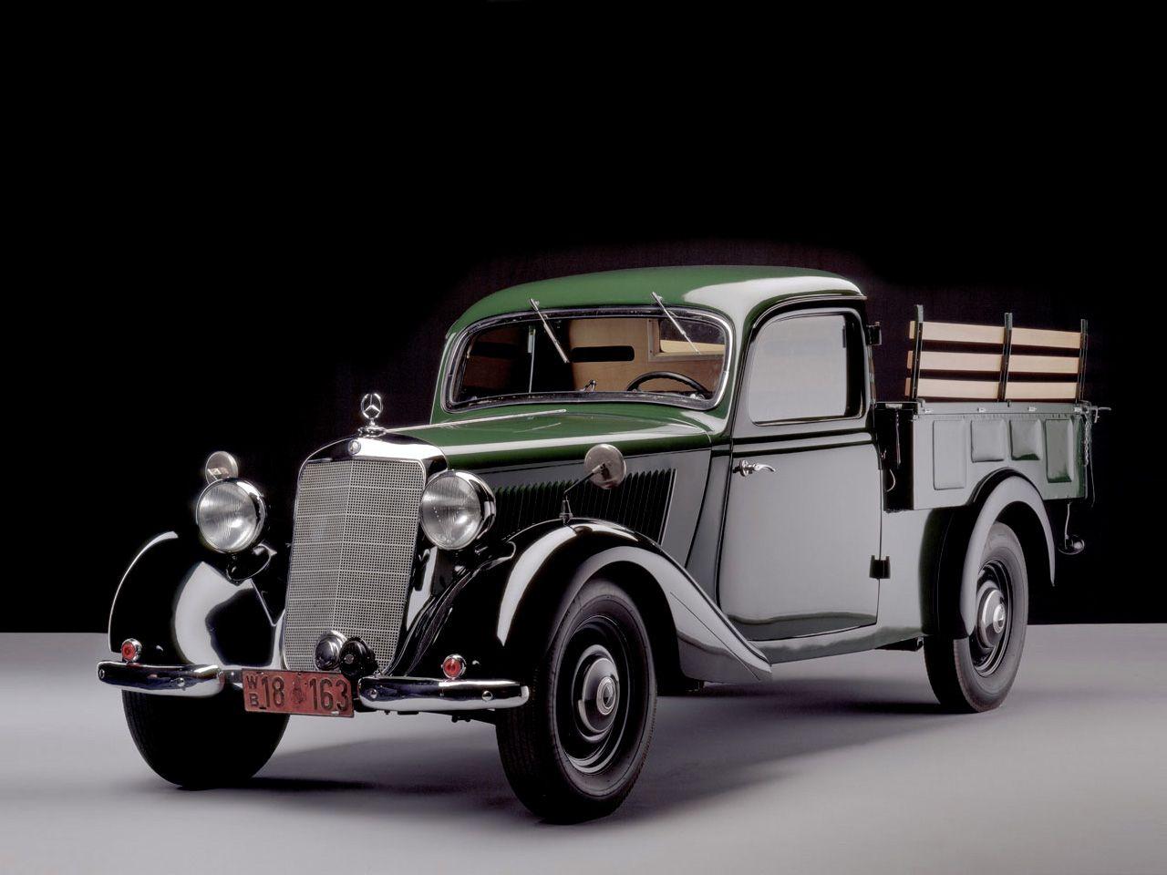 Mercedes 170 v pickup 1946 clean rides pinterest for 1946 mercedes benz