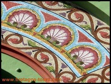 odorico 2 odorico pinterest mosaique mosaiste et mur en mosa que. Black Bedroom Furniture Sets. Home Design Ideas