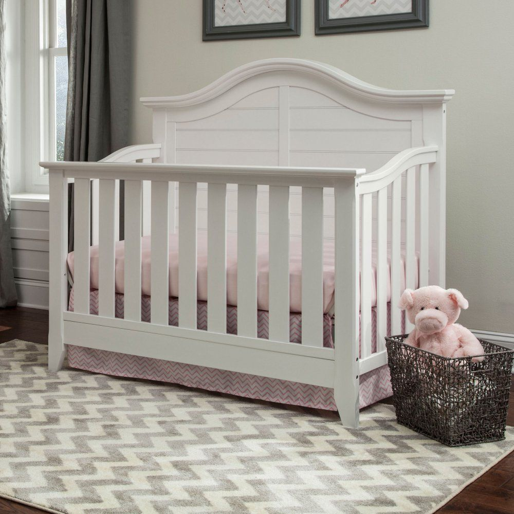 Delicieux Thomasville Kids Southern Dunes 4 In 1 Convertible Crib   With Its Paneled  Headboard