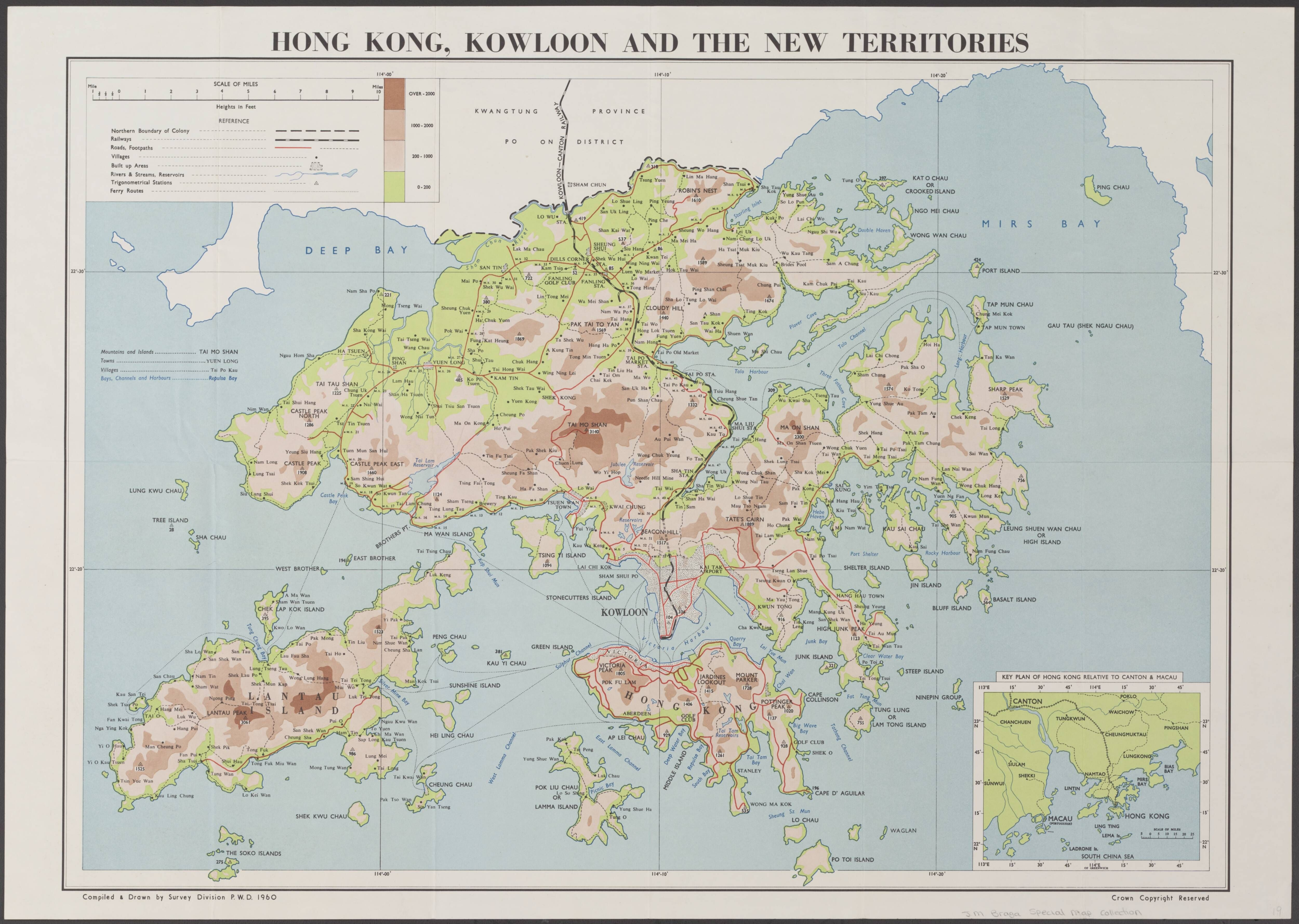 1960 map of hong kong kowloon and the new territorie other maps 1960 map of hong kong kowloon and the new territorie gumiabroncs Images
