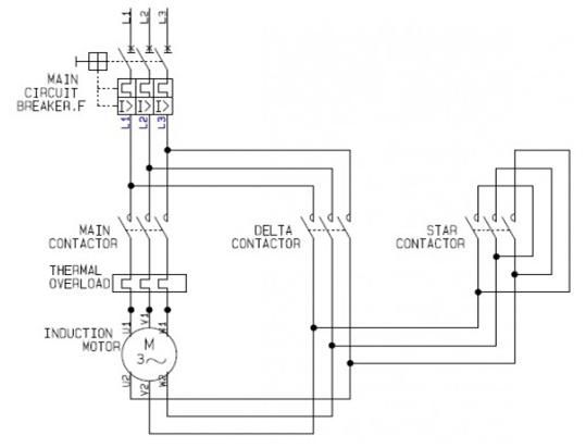 Delta Wiring Diagram 3 Phase 3 Phase Motor Wiring Connection