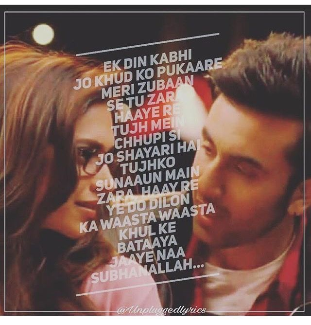 Pin by Nidhi Shah on music | Bollywood quotes, Yjhd quotes ...