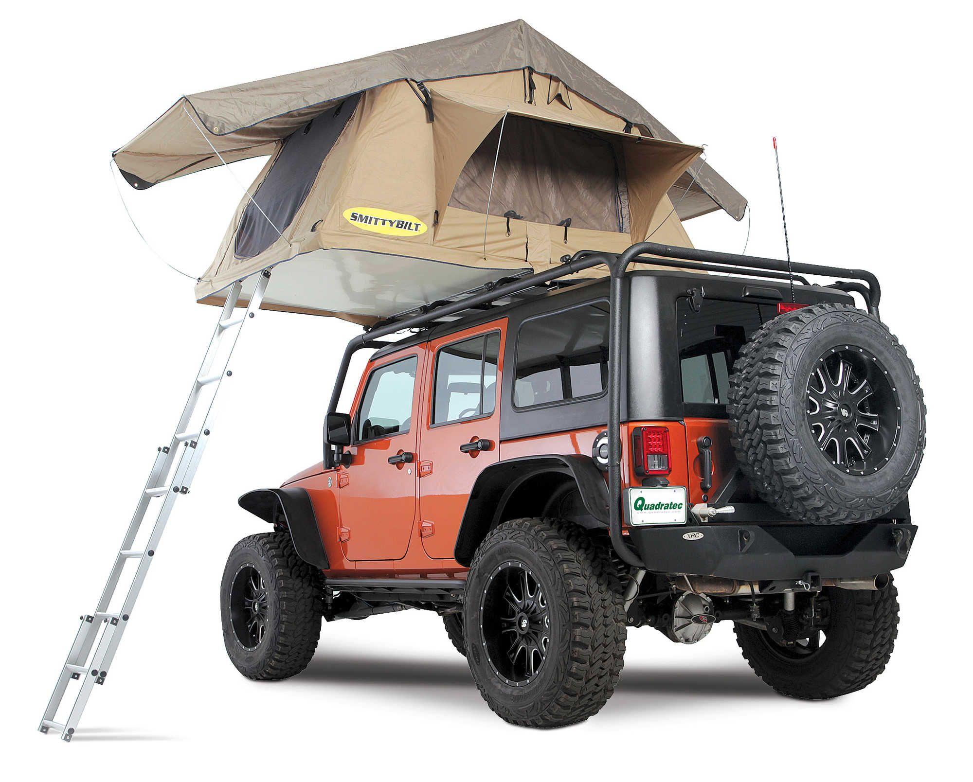 Smittybilt 2783 Overlander Tent Jeep Tent Roof Top Tent Jeep