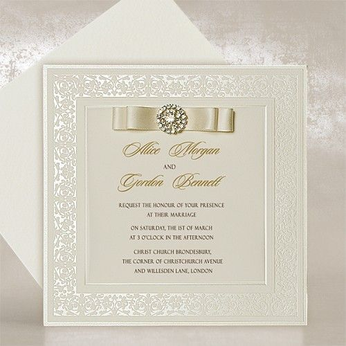 Exquisite Wedding Invitations Uk Imperial Style Polina
