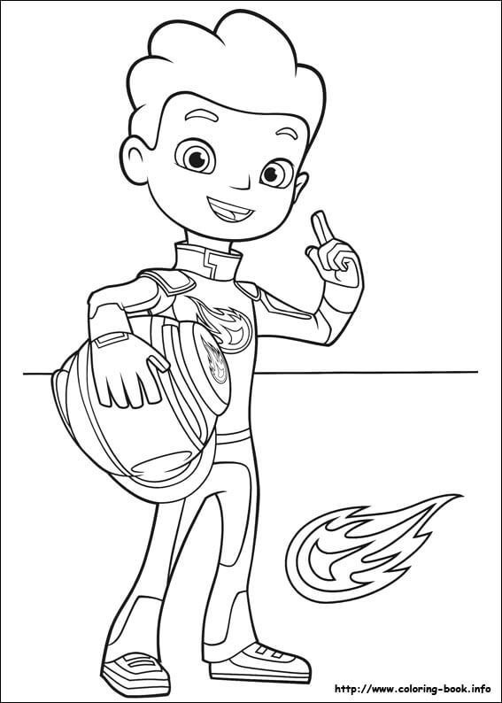 Kleurplaat Marcus 6 Aj From Blaze And The Monster Machines Coloring Pages