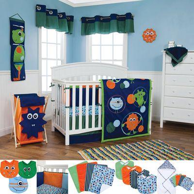 monster baby nursery | Meijer Baby & Toddler Baby Bedding ...