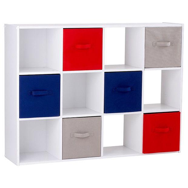 Merveilleux 12 Cube Storage System | Target Australia