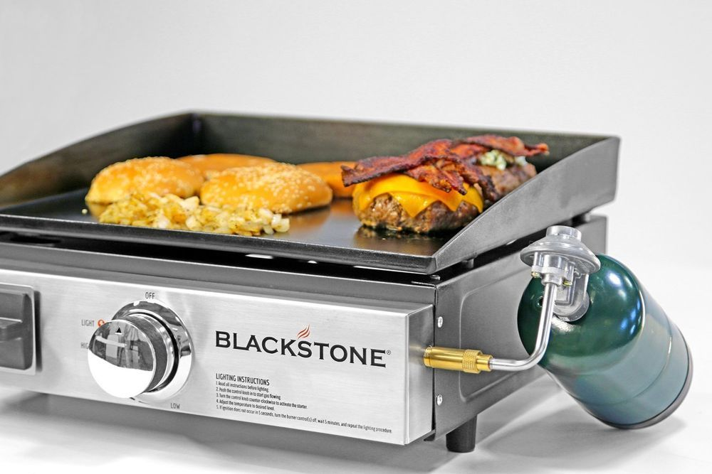 Blackstone Portable Table Top Camp Griddle Gas Grill For Outdoors