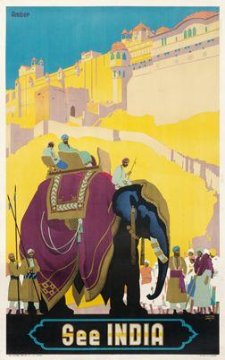 Cooper, Austin poster: See India - Amber (Rajasthan)
