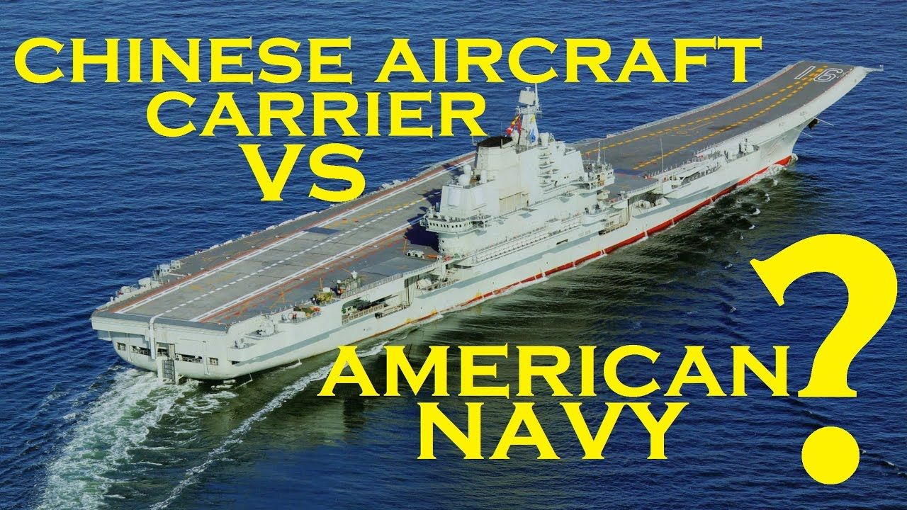 Jan 27, 2017 CHINESE AIRCRAFT CARRIER - LIAONING VS AMERICAN NAVY ...