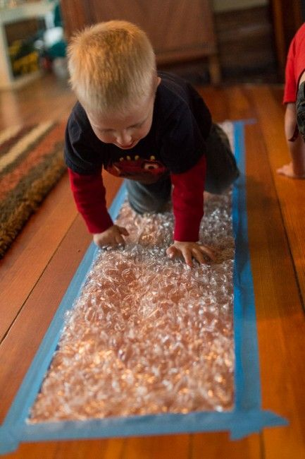 Make A Bubble Wrap Runway For Kids Of All Ages Gross