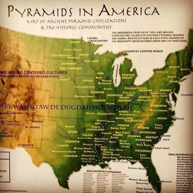 Pyramids In America Map.Pyramids In America Loving The Ancient Tower Of Babel Ancient