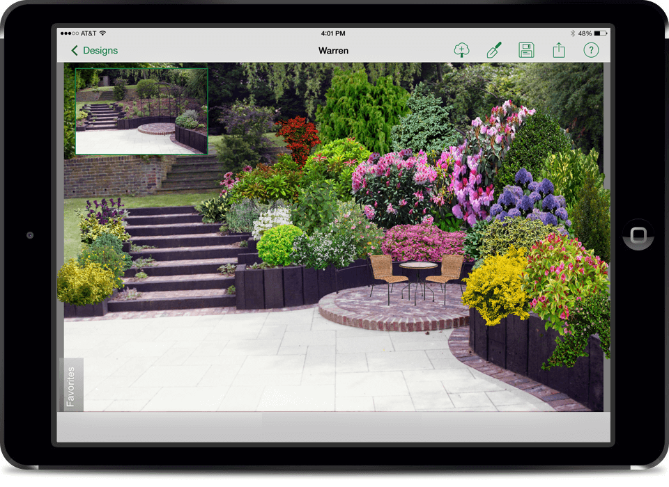 Home App Landscape design software, Landscape