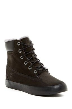 Flannery Hidden Wedge Faux Fur Lined Boot