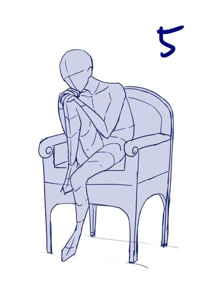 Image Result For Anime Base Template Poses Kneeling Art