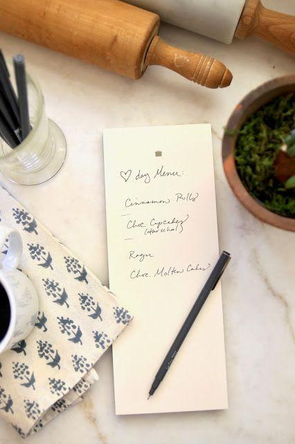 Our Menu This Week   Easy Make Ahead Valentine's Dinner
