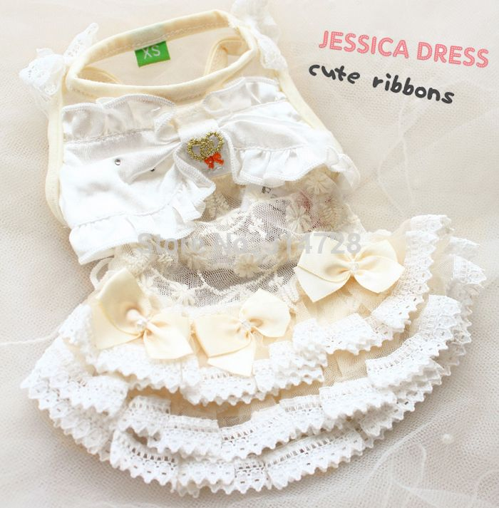Fancy Dog Dresses   ... fancy dog clothes dog wedding dresses dog skirts cute puppy dog coat
