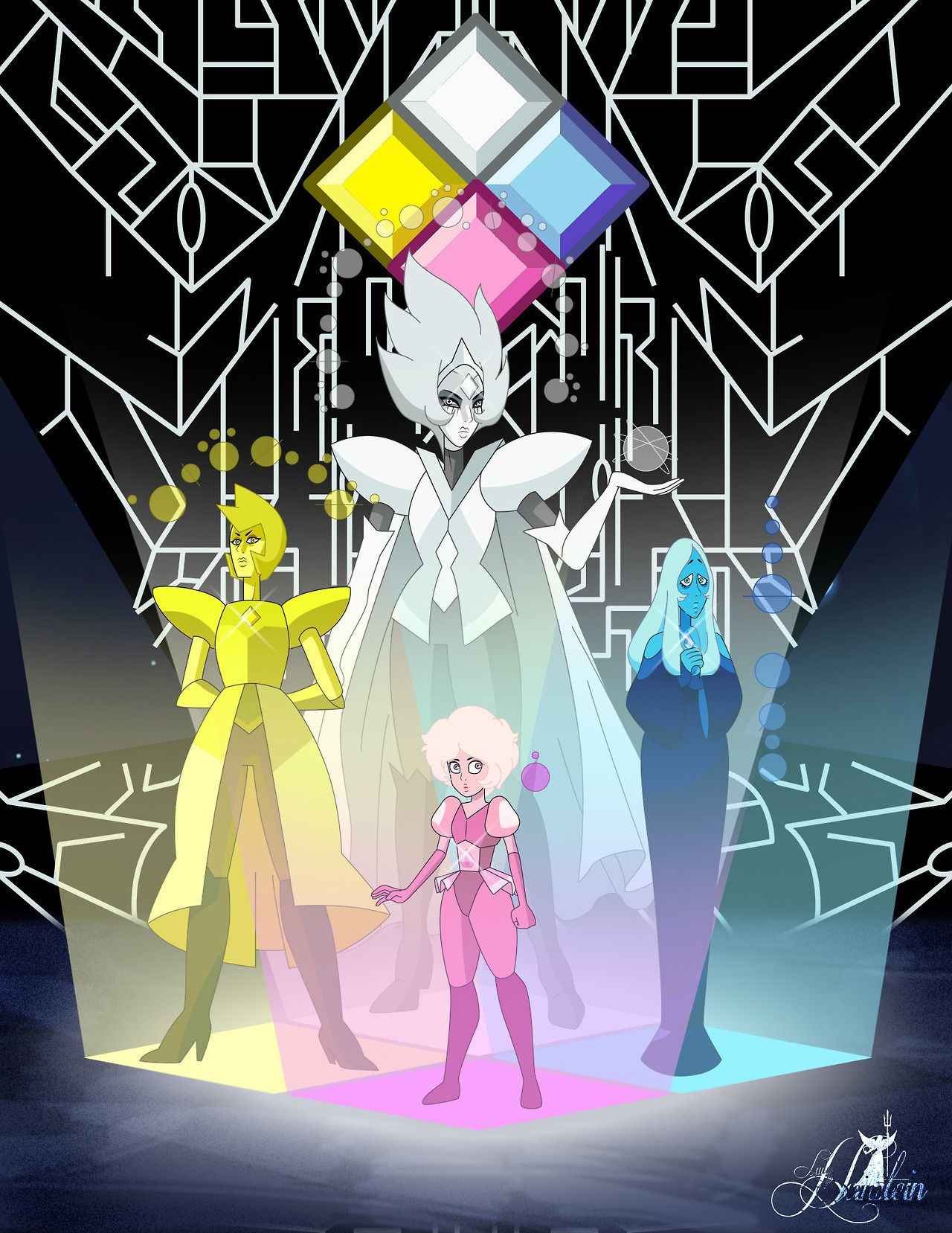 yellow diamond vs white diamond