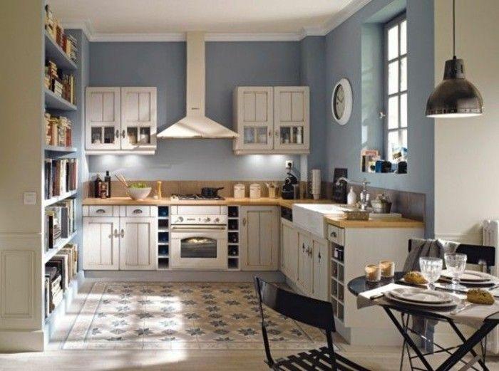 Kitchenette Leroy Merlin Murs Gris Et Plafond Blanc