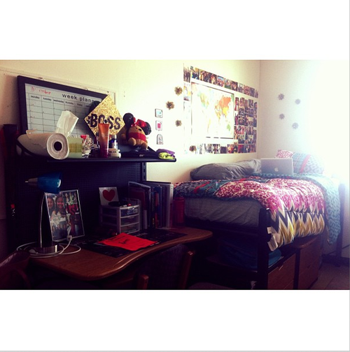 Awesome San Diego State University Dorm Room..nice Decor! Part 16