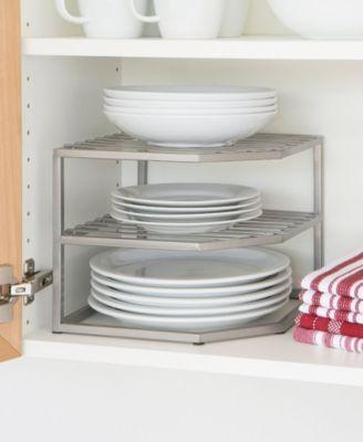 Seville Classics Corner Kitchen Cabinet Organizer