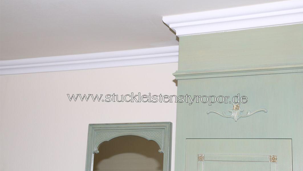 Deckenleisten Wandleisten Aus Styropor Stuckleisten Deckenleisten Haus Deko