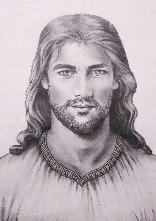 Pin De Amarilde Nascimento En Pinturas Cuadros Acuarelas Y Mas Dibujos De Jesus Rostro De Jesus Imagen De Cristo