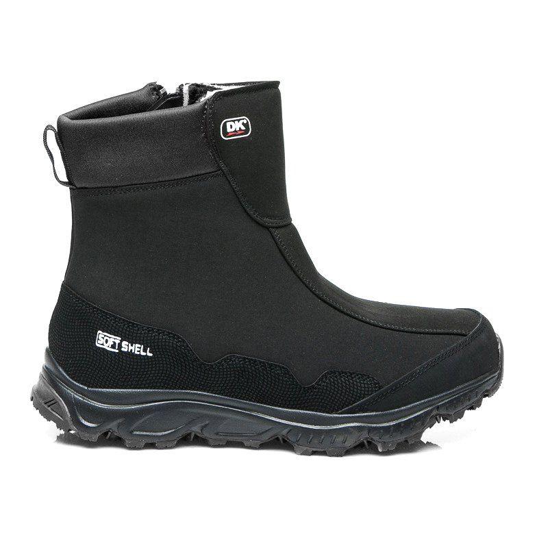 Dk Sniegowce Z Membrana Softshell Czarne Boots Softshell Hunter Boots