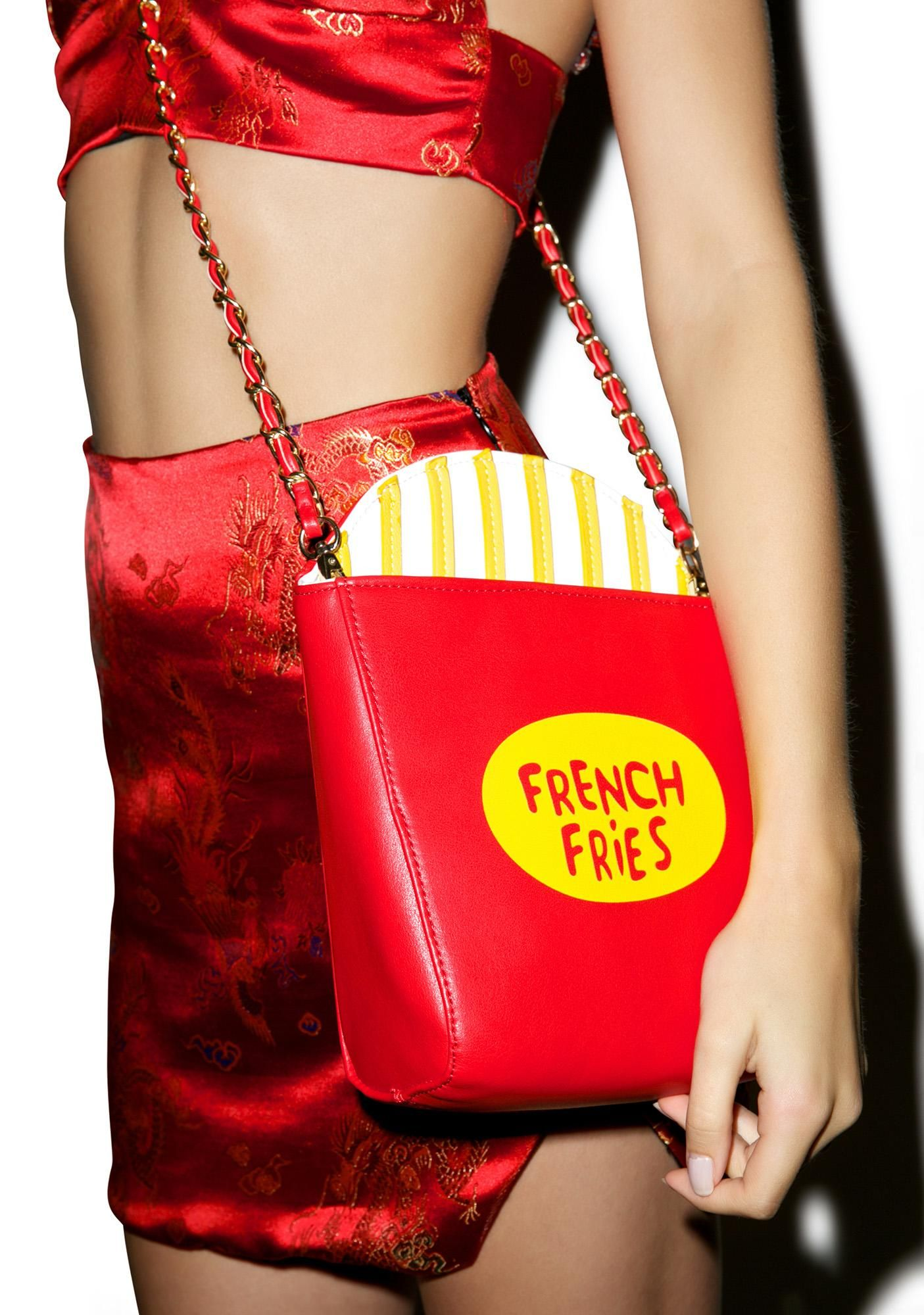Super Sized Fries Bag Bags, Outfit accessories, Boy london