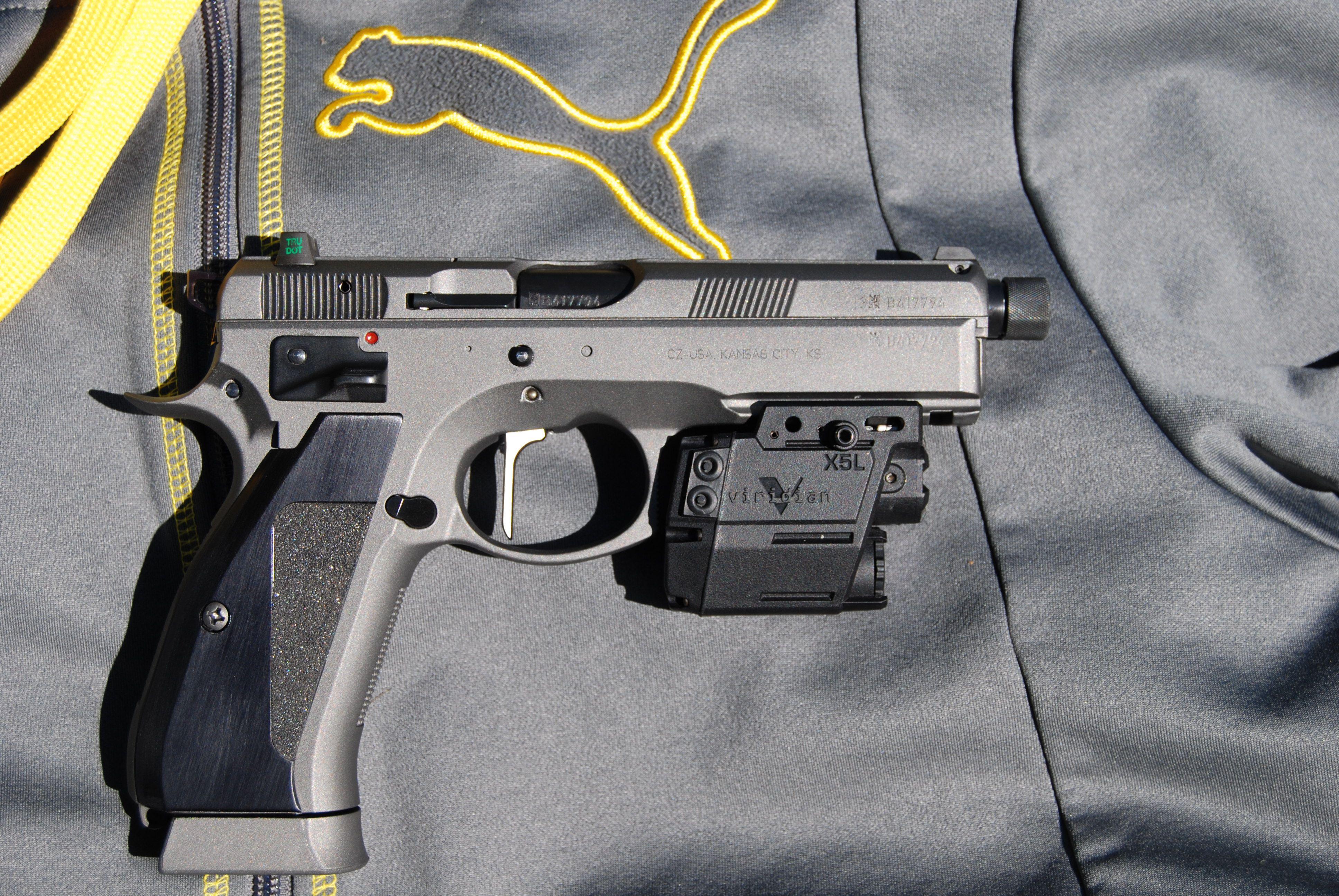 CZ 75 SP-01 Custom work done by Cajun Gun Works | Awesome