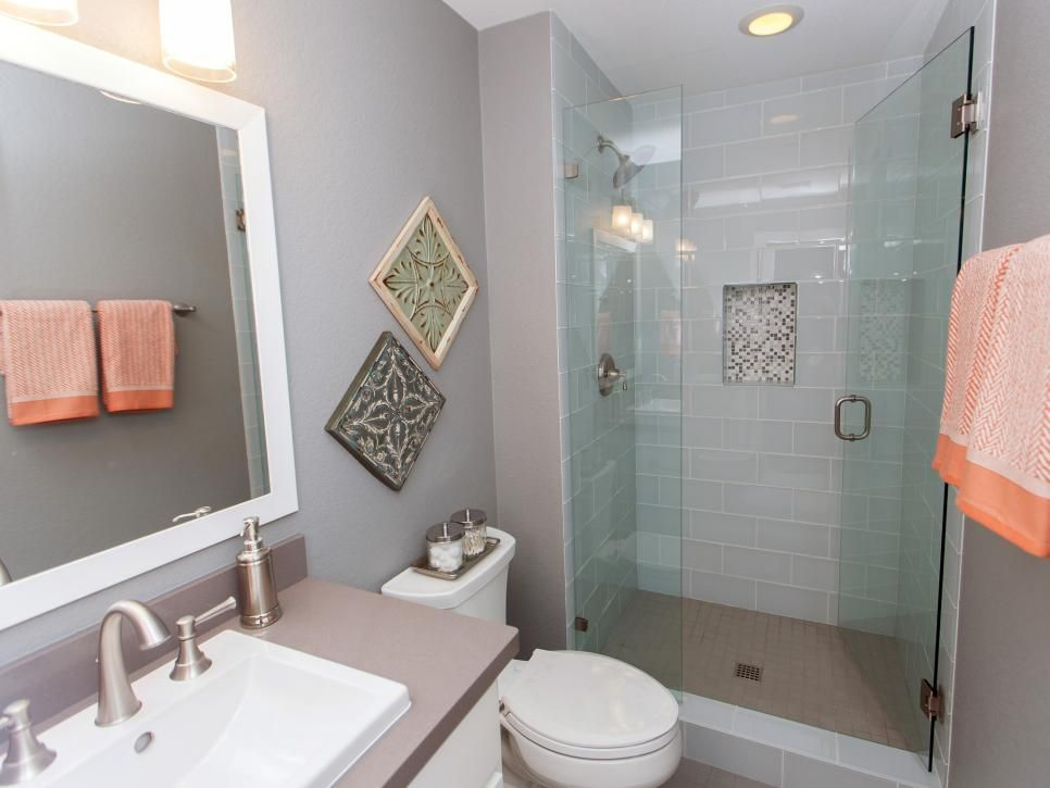 20 Small Bathroom Before And Afters Small Bathroom Makeover Fixer Upper Bathroom Bathrooms Remodel