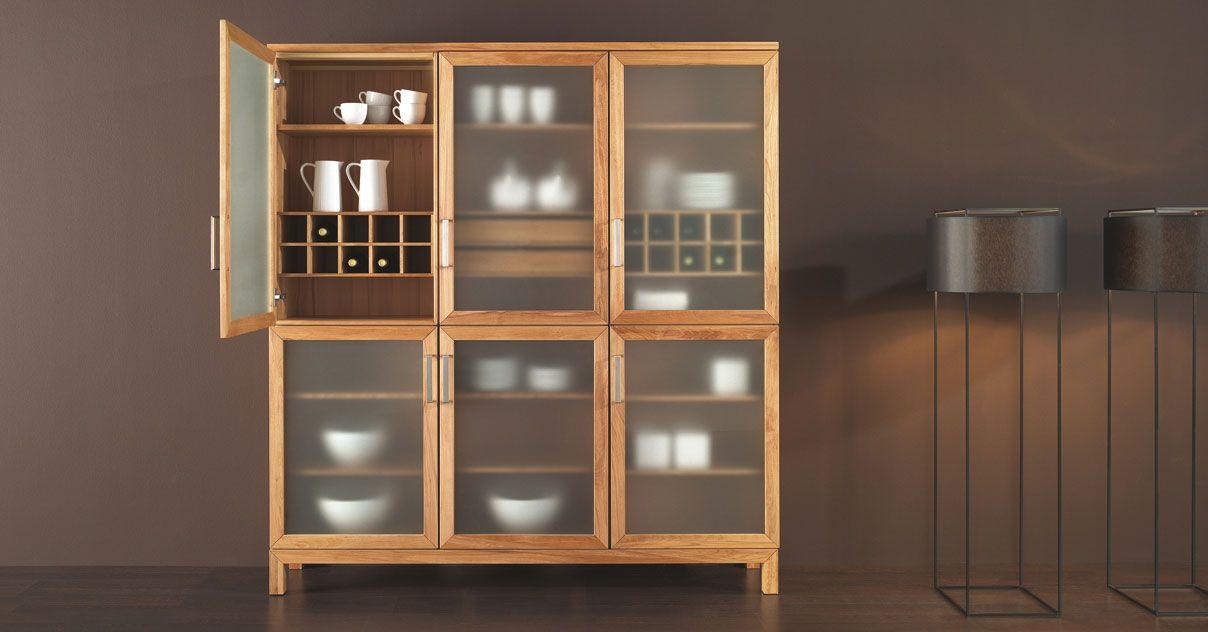 Geschirrschrank Von Goehring  Interieurs & Furnitures Awesome Dining Room In German Decorating Design
